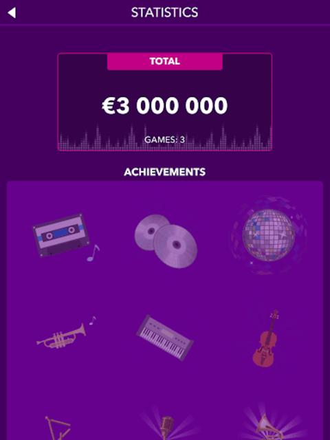 Millionaire Music Quiz screenshot 9