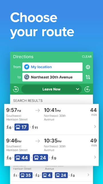 Portland Transit • TriMet Rail & Bus Times screenshot 2