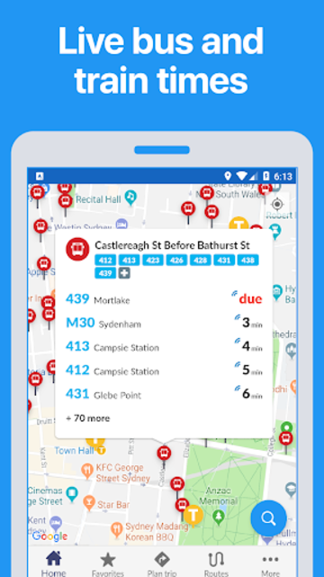 Portland Transit • TriMet bus & train times screenshot 1