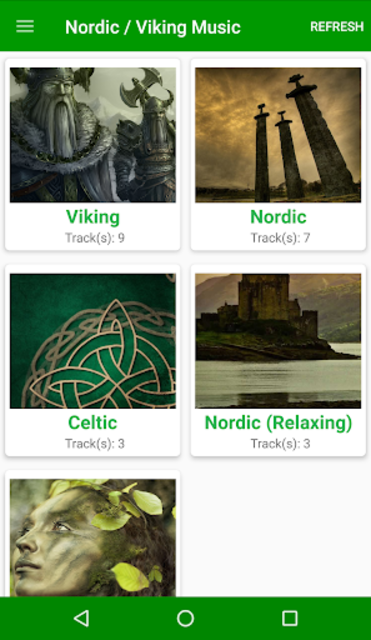 Ragnar - Viking , Nordic , Celtic Music Songs Thor screenshot 2