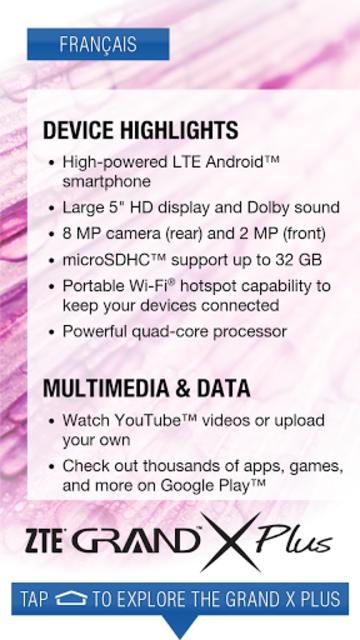 ZTE Grand X Plus Demo screenshot 3