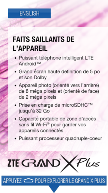 ZTE Grand X Plus Demo screenshot 4