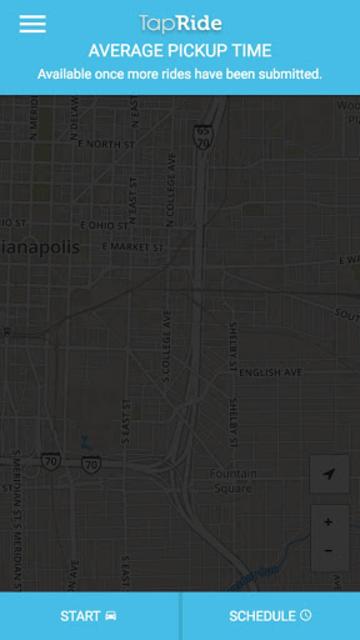 TapRide screenshot 1