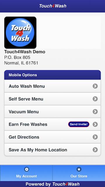 Touch4Wash screenshot 2