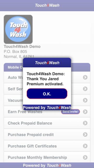 Touch4Wash screenshot 5