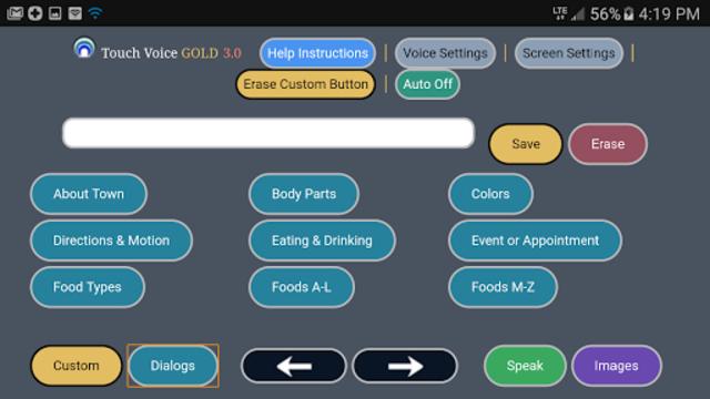 Touch Voice Gold screenshot 3