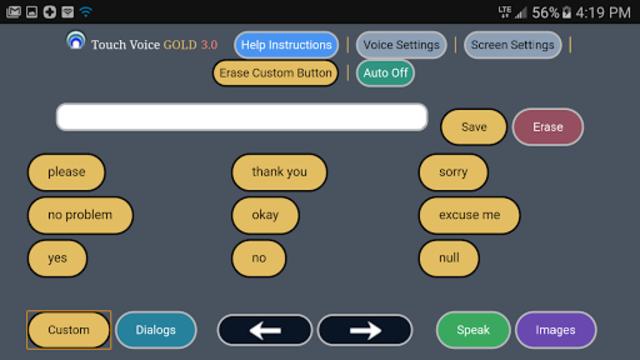 Touch Voice Gold screenshot 4