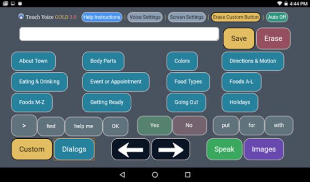 Touch Voice Gold screenshot 14