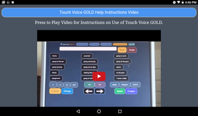Touch Voice Gold screenshot 16