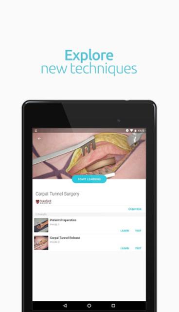 Touch Surgery: surgical videos screenshot 14