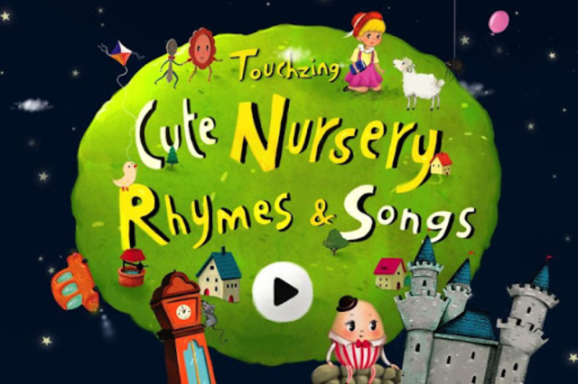 Cute Nursery Rhymes, Poems & Songs For Kids Free screenshot 5