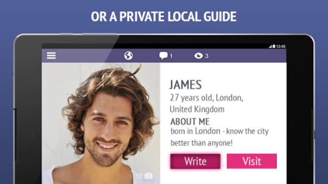 TourBar - Chat, Meet & Travel screenshot 7