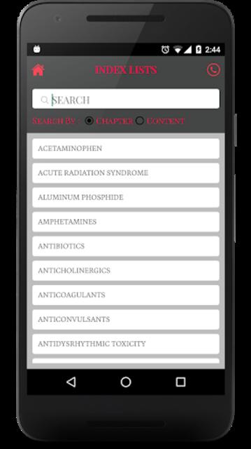 Tox Handbook screenshot 2