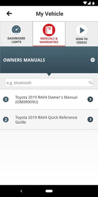 Toyota Owners screenshot 5