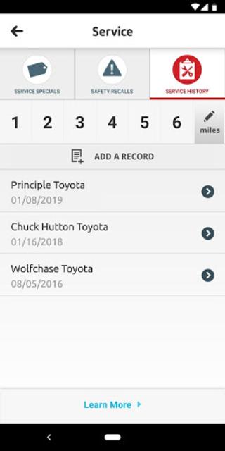 Toyota Owners screenshot 3