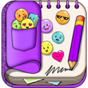 Icon for Purple Diary with Lock