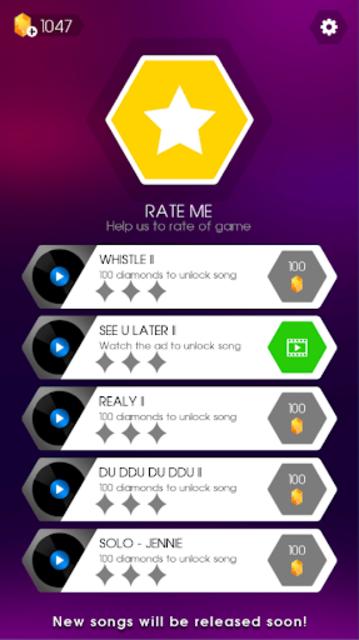 BLACKPINK Magic Pad: KPOP Music Dancing Pad Game screenshot 6