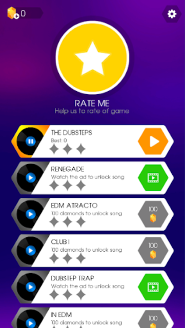 Dancing Pad: Tap Tap Rhythm Game screenshot 1