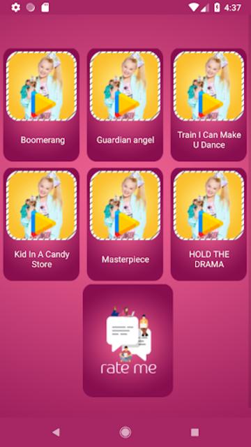 jojo siwa All Songs with Lyrics screenshot 2