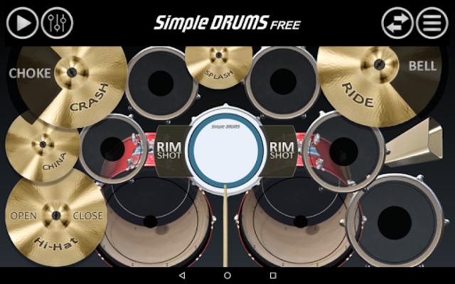 Simple Drums Free screenshot 1
