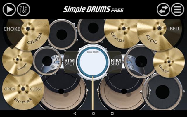 Simple Drums Free screenshot 2