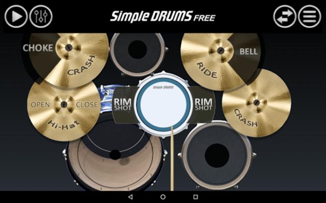 Simple Drums Free screenshot 3