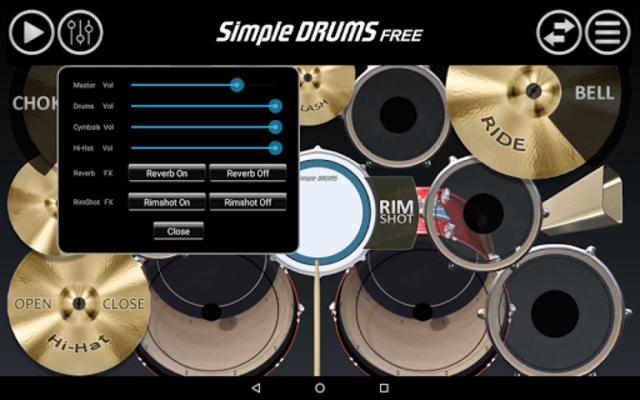 Simple Drums Free screenshot 10