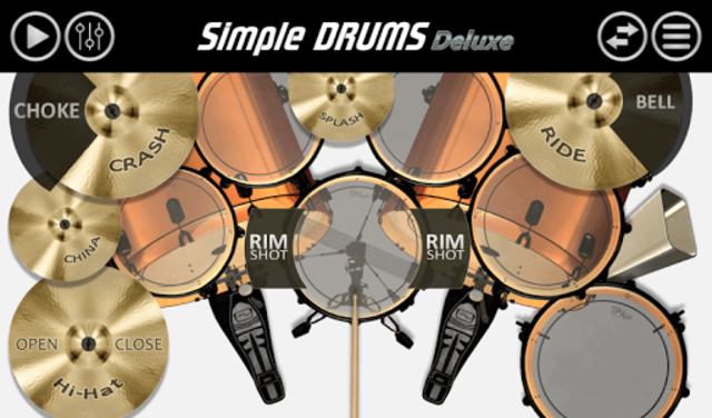 Simple Drums - Deluxe screenshot 1