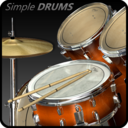 Icon for Simple Drums Rock - Realistic Drum Set