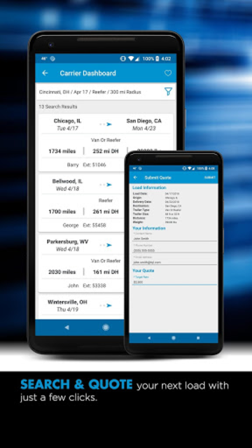 TQL Carrier Dashboard screenshot 6