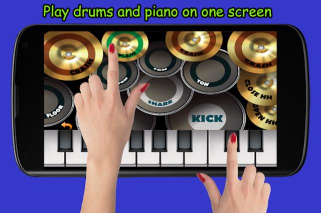 Blue Drum - Piano screenshot 1