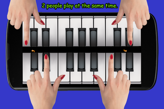 Blue Drum - Piano screenshot 2