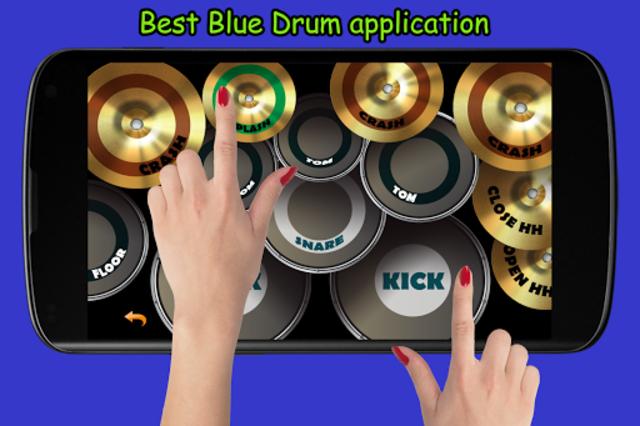 Blue Drum - Piano screenshot 3