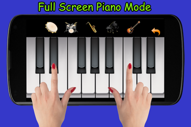 Blue Drum - Piano screenshot 5