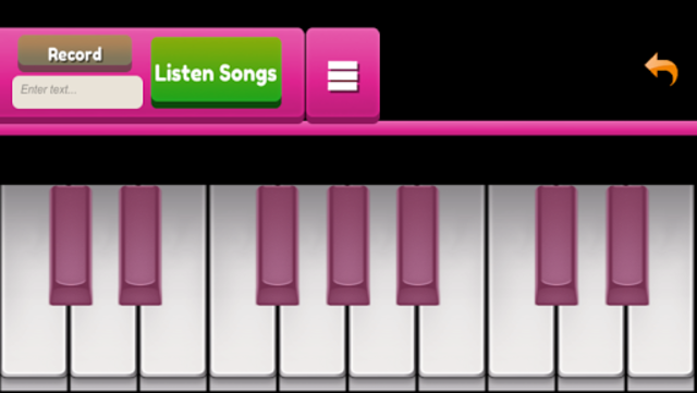 Pinks Piano screenshot 1
