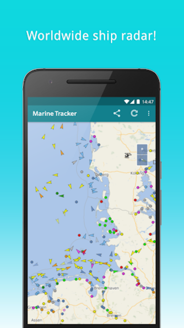 Marine Tracker - Maritime traffic - Ship radar screenshot 2