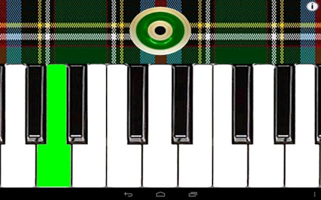Bagpipes Piano Ultimate screenshot 3