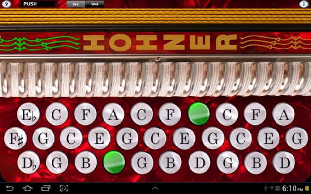 Hohner-GCF Button Accordion screenshot 1