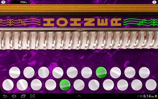 Hohner G/C Button Accordion screenshot 1