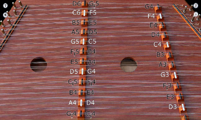 Trapezoid - Hammered Dulcimer screenshot 1