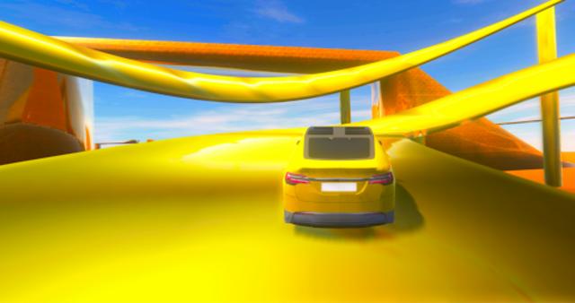 Ultimate Car Driving Stunts screenshot 3