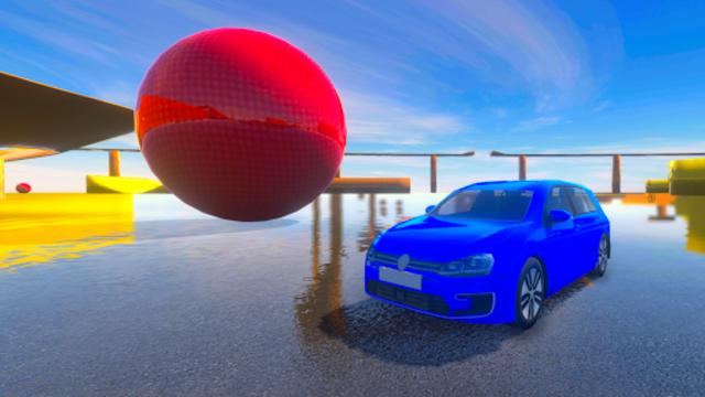 Ultimate Car Driving Stunts screenshot 4