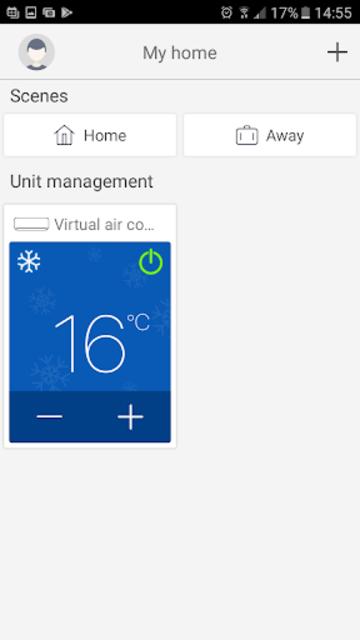 Trane WiFi App screenshot 2
