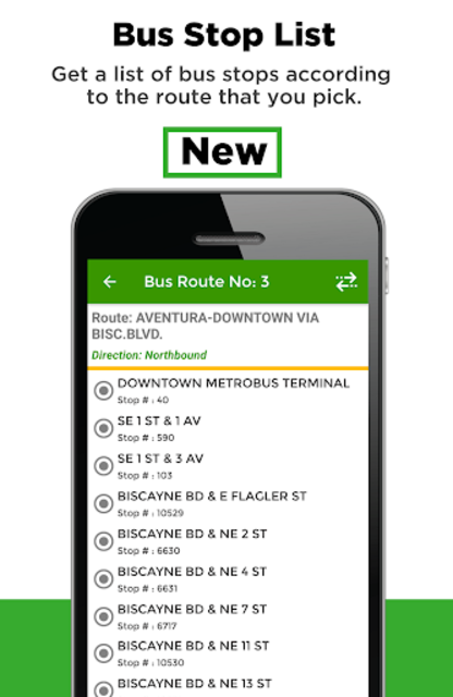 Miami Transit App - Bus, Mover and Rail Tracker screenshot 3