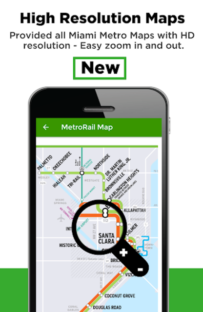 Miami Transit App - Bus, Mover and Rail Tracker screenshot 4