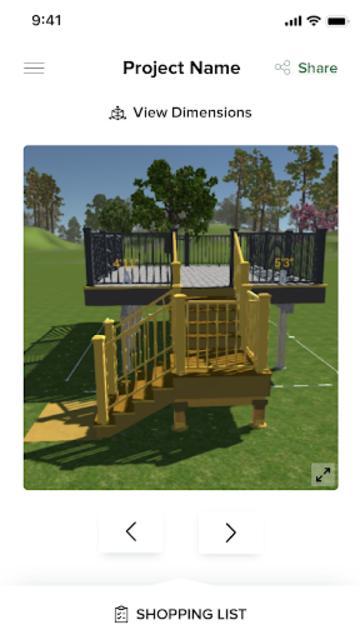 Trex Deck Designer Portal screenshot 2