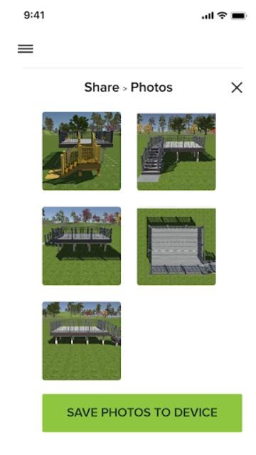 Trex Deck Designer Portal screenshot 3