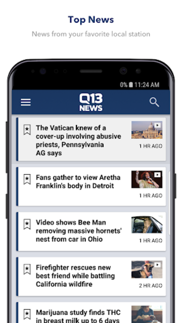 Q13 News screenshot 1