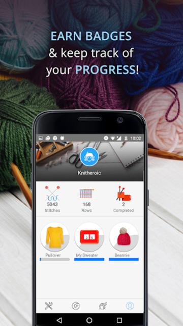 Knitting Genius - Free Patterns & Row Counter screenshot 24