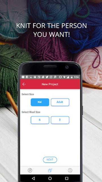 Knitting Genius - Free Patterns & Row Counter screenshot 2